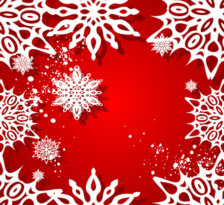 Vector Christmas seamless background.