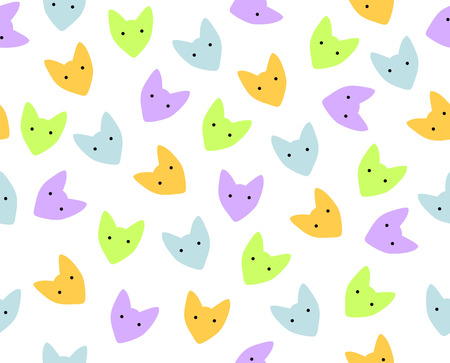 Seamless vector background with simple animal print. Ilustracja