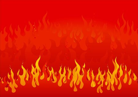 Flames Stock Vector - 9147215