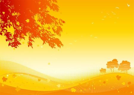 Autumn maple leaves Stock Vector - 10330916