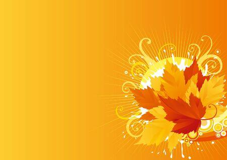 Autumn maple leaves Stock Vector - 10330910