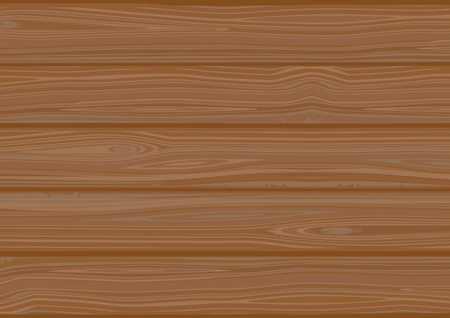 Vector background of  Wooden boards Stock Vector - 10398284