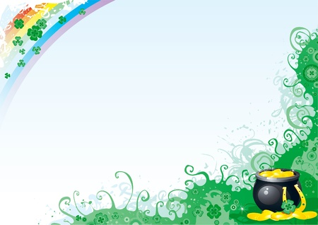Background for St. Patrick Vector