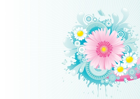 Blossoming summer  Stock Vector - 13762637