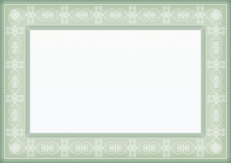 Certificate frame vintage frame for Certificate blank Stock Vector - 17031665