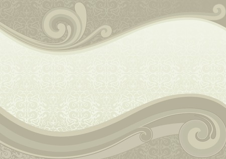 aristocrat: Retro abstract background with place for text Illustration