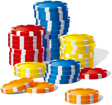 casino chips: Poker Chips
