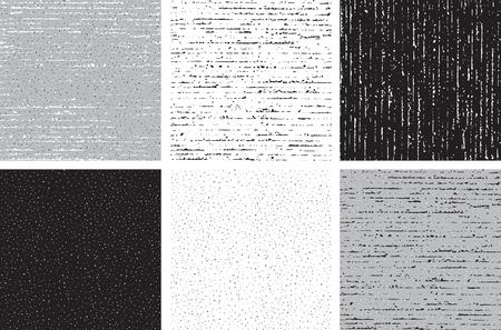 Patrones abstractos. Conjunto de fondos sucios inconsútiles del vector