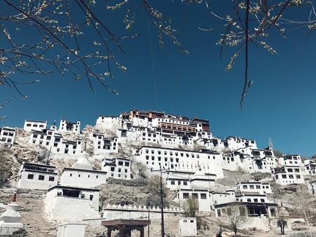 Thikse Monastery in Leh Ladakh