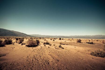 Dry   barren land terrain like Mars