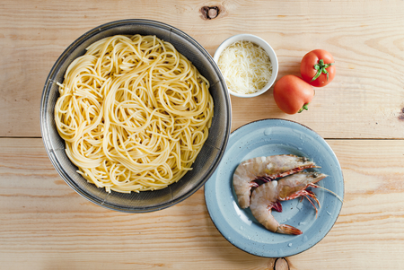 decapods: Pasta with Shrimp and Cheese