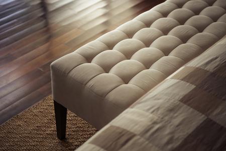 the footstool: Stylish sofa