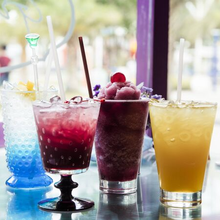 Colourful Summer Drinks