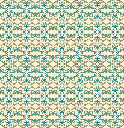 Floral Ornamental pattern. Traditional Arabic seamless ornament. Vector
