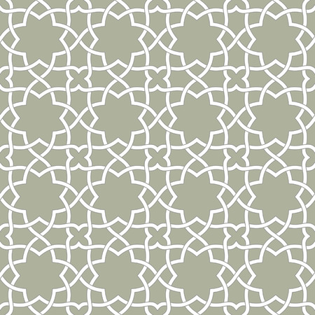 Ornamental pattern. Arabic seamless pattern.  Background. Vector Ilustracja