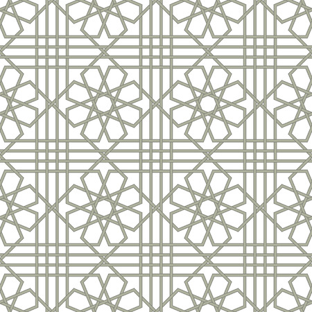 Ornamental pattern. Arabic seamless pattern.  Background. Vector Vector