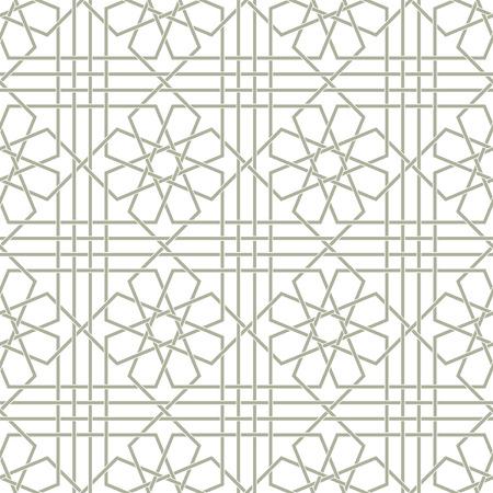 Sier patroon. Arabisch naadloos patroon. Achtergrond. Vector