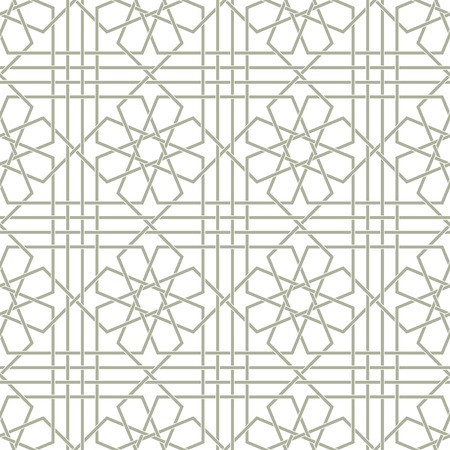 Ornamental pattern. Arabic seamless pattern.  Background. Vector Illustration