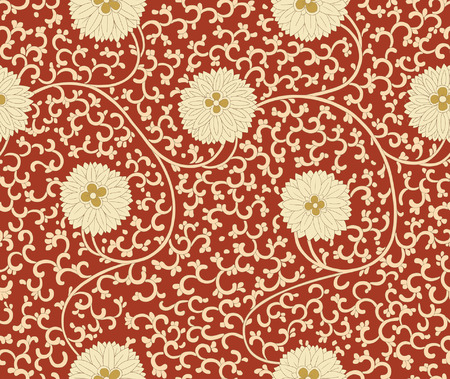 Chinese seamless pattern. Vintage Stock Vector - 40918646