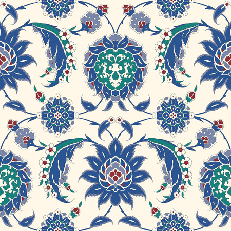 Traditional Arabic ornament seamless pattern for your design. Vector. Background