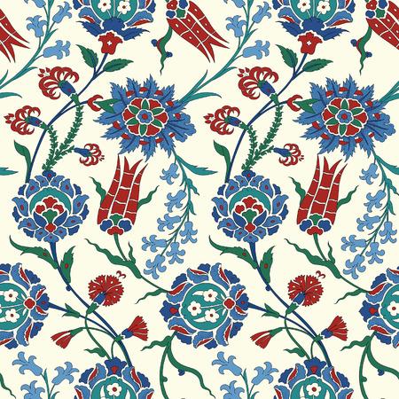 전통적인 아랍어 장식, 디자인을위한 완벽 한 패턴입니다. 벡터. 배경 일러스트