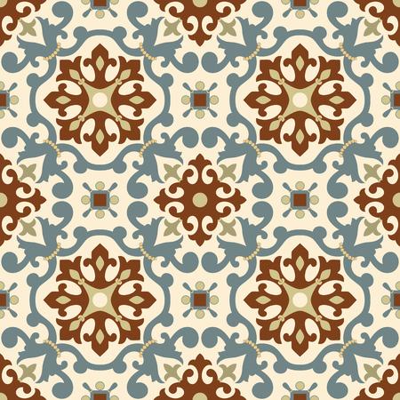 Traditional Arabic ornement sans soudure. motif ornemental Floral. Iznik