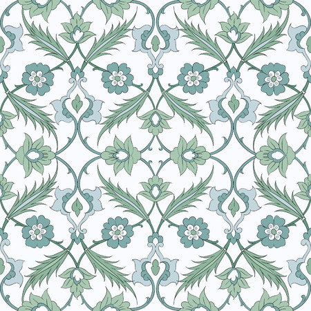 Seamless pattern in the traditional Arabic style for your design.