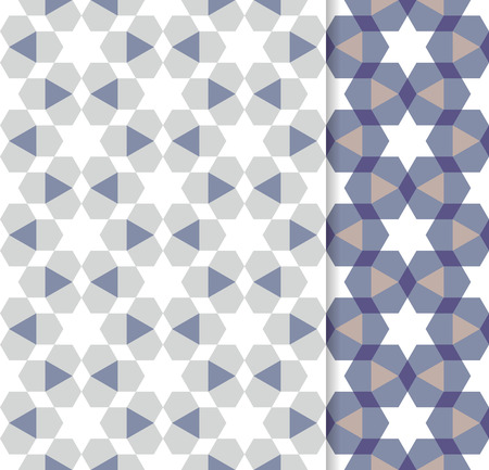 desktop wallpaper: Traditional Arabic ornament seamless for your design. Geometric seamless pattern for interior decoration and graphic design. Desktop wallpaper. Background. Vector.