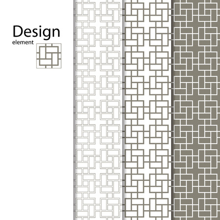 kirigami: Geometric pattern seamless for your design. Geometric pattern for laser cutting. Laser glass engraving. Desktop wallpaper, interior decoration, graphic design. Illustration