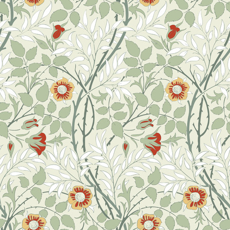 desktop wallpaper: Modern fabric design pattern. Desktop wallpaper. Background. Floral pattern for your design. Illustration. Modern seamless pattern for interior decoration, wrapping paper, graphic design and textile.