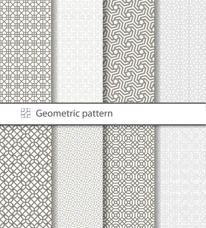 Traditional Arabic seamless ornament. Geometric pattern seamless for your design. Geometric pattern for laser cutting. Desktop wallpaper, interior decoration, graphic design.