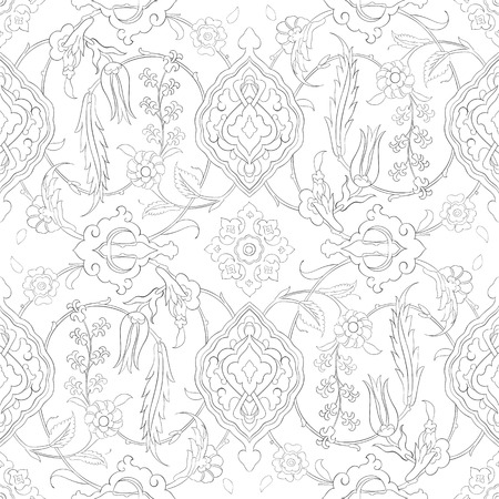 Traditional Arabic ornament seamless for your design.