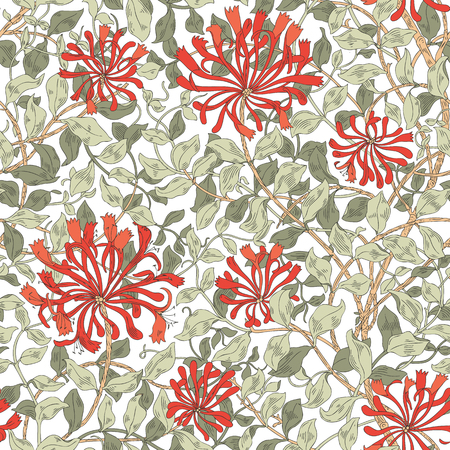 Design of modern fabric pattern. Floral pattern for your design. Illustration. Wrapping paper, graphic design, clothes and textile. Vector. Background.
