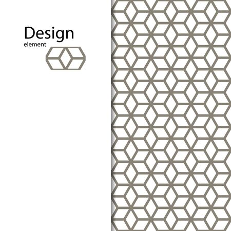Traditional Arabic seamless ornament. Geometric pattern seamless for your design. Geometric pattern for laser cutting. Desktop wallpaper, interior decoration, graphic design. Фото со стока - 127105161