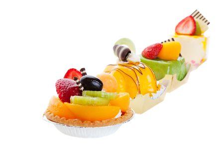 fancy sweet box: An assortment of Asian desserts