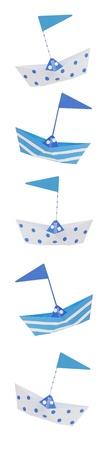 cotillons: Nautique th�me, vieux parti en bateau en �tain favorise la fronti�re, parfait pour les b�b�s gar�ons et les anniversaires. Banque d'images