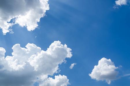 clound: clound in blue sky Stock Photo