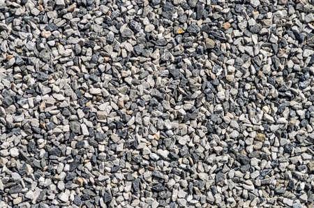 hormig�n: crushed gravel texture . gray background Foto de archivo