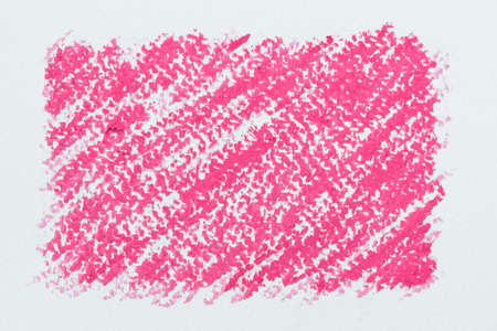 oil pastels: Paint pink line from oil pastels for background