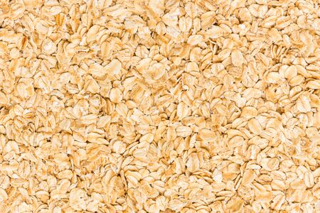 rolled oats: Rolled oats background close up
