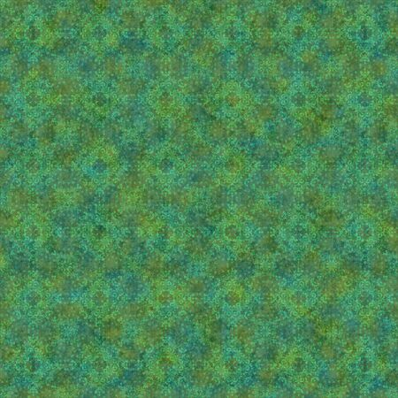 Seamless Green Kaleidoscope Background Wallpaper Stock Photo - 12092528