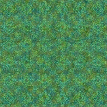 Seamless Green Kaleidoscope Background Wallpaper Stock Photo - 12092528