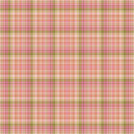 シームレスなピンク & 緑の格子縞 写真素材 - 12683286