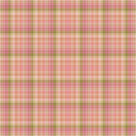 Seamless Pink & Green Plaid