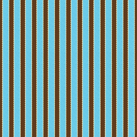 tileable: Seamless Aqua, Brown & White Stripe