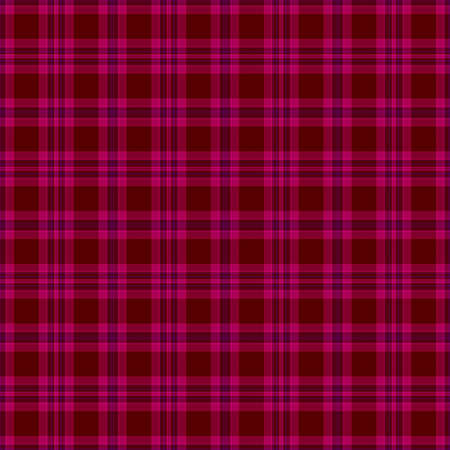Seamless Deep Pink Plaid Background photo