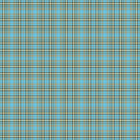 Seamless Aqua   Brown Plaid