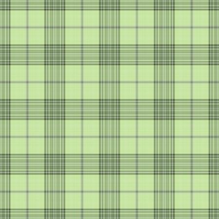 シームレスな柔らかい緑の格子縞 写真素材