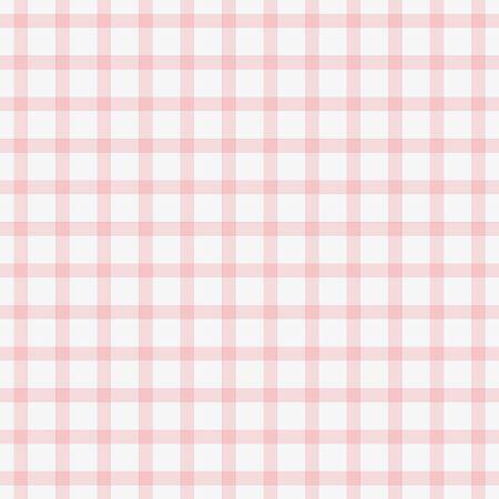 可憐なピンクの格子縞の赤ちゃん