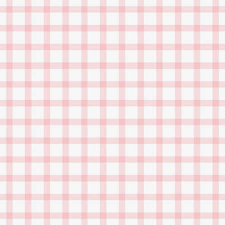 Dainty Baby Pink Plaid 写真素材
